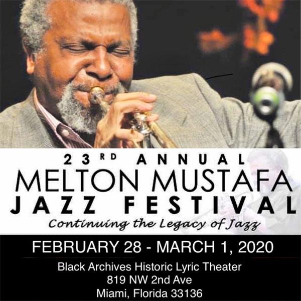 23rd annual Melton Mustafa Jazz Festival