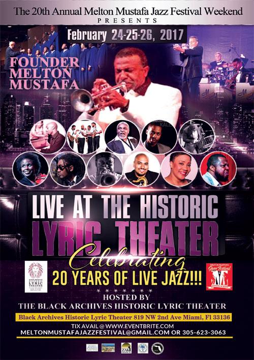 20th Annual Melton Mustafa Jazz Festival and Workshop